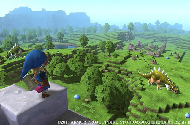 'Dragon Quest' spin-off borrows a few blocks from 'Minecraft'