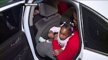Nurses bail out a father arrested for violating traffic laws while rushing his choking baby to hospital
