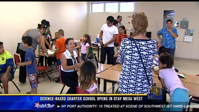 Science-based charter school opens in Otay Mesa West