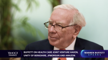 Warren Buffett on Haven, his health care joint-venture with Bezos and Dimon