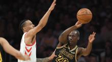 32-year-old Lakers rookie Andre Ingram sizzles in NBA debut, hits 4 3-pointers off bench
