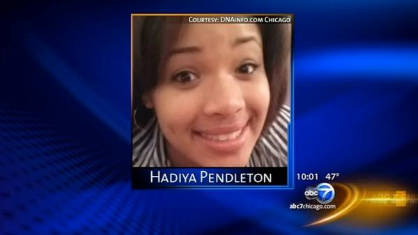 No charges yet to 2 questioned in Hadiya Pendleton's murder