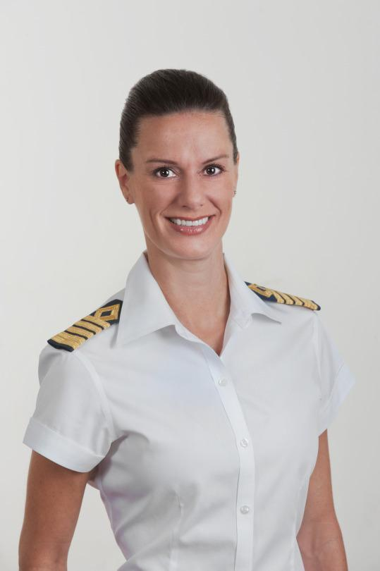 America's First Female Cruise Ship Captain Talks About Making History