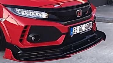 純看爽「網美車」!Honda FK8 Type R超異類「推土機」式樣