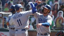 Dodgers silence Giants in doubleheader shutouts as boycotts continue in MLB