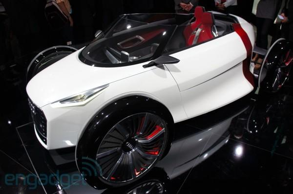Audi's electric Urban Concept says that less is more, really means it