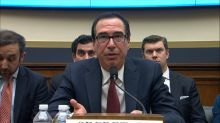 Steve Mnuchin and Maxine Waters clash at hearing