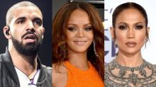 Drake Gives Rihanna a Birthday Shout-Out, While Jennifer Lopez Gets Grilled About the Singer