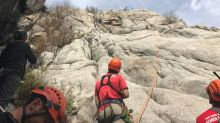 Refrigerator-sized rock crashes on climber who had to be rescued, Utah officials say