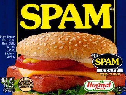 Download a demo, get free spam