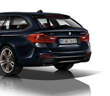 The BMW M550d xDrive Touring Is the Quad-Turbo Diesel Wagon of Your Dreams