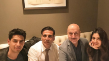 Sidharth Malhotra dines with Akshay Kumar and Bhumi Pednekar in London