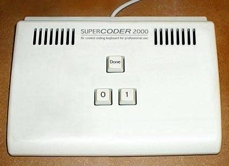 Supercoder 2000: Tastatur für Minimalisten