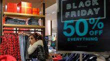 UPDATE 3-That frenzied Black Friday crush? Not this year