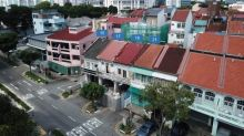 Four shophouses on Tessensohn Road going for $25 mil