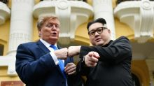 Trump, Kim impersonators held for questioning by Hanoi police