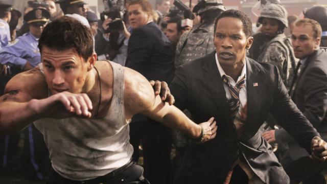 Channing Tatum and Jamie Foxx on White HouseDown