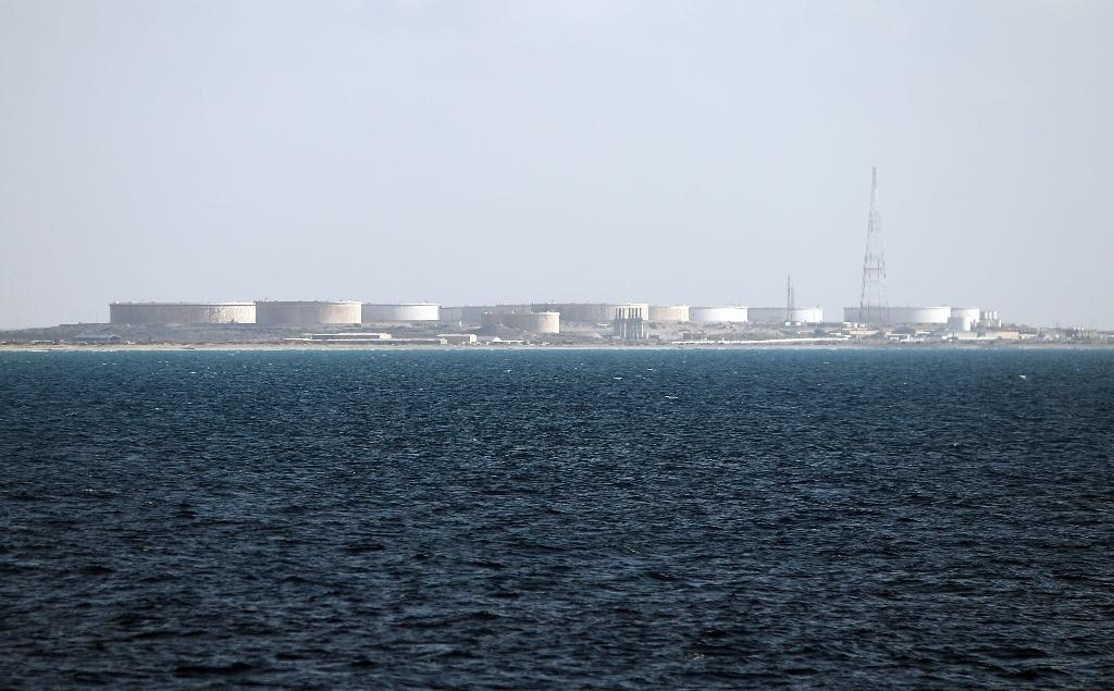 Libya's eastern oil ports are conduits for much of the crude, gas and petrochemical sales that form the lifeblood of the economy (AFP Photo/ABDULLAH DOMA)