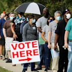 Yahoo News/YouGov poll: Less than a third of U.S. voters plan to cast their ballots in person on Election Day