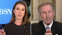 Trump lawyer's furious tirade at TV anchor