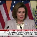 Speaker Nancy Pelosi defends House Democrats' impeachment inquiry process