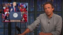 Seth Meyers on Trump's rally: 'If you were trying to get people sick, this is how'
