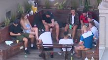 Police break up backpackers' rooftop party at hostel - but don't fine them