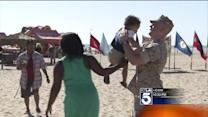 Returning Troops Reunite With Families at Camp Pendleton