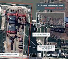Say Cheese! Satellite Photos Reveal China's New Aircraft Carrier