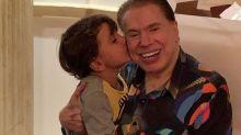Silvio Santos ganha homenagem fofa de Dia dos Pais: 'Valeu a pena'