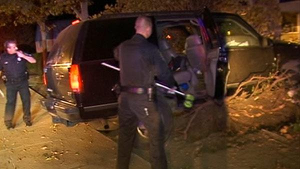 Three in custody after chase in Contra Costa County