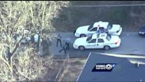 Police arrest robbery suspect after wild chase