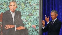 Obama's Official Portrait Is Already The Best New Meme Of The Year