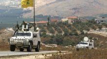 Israel strikes Hezbollah after gunfire on Lebanon border