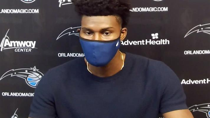 Jonathan Isaac: 'Kneeling…don't go hand-in-hand with supporting Black lives'