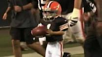 Cancer patient scores touchdown for Cleveland Browns