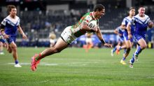 Dogs show heart in NRL loss to Souths