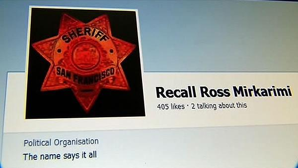 Rumors of recall swirling around Sheriff Mirkarimi