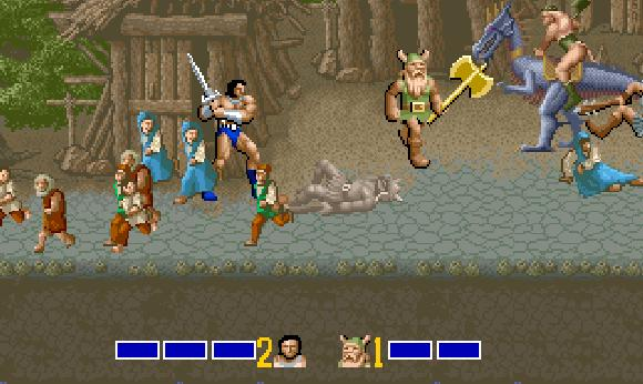 European Nintendo Downloads: Learning with the Golden Axe