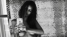 Emily Ratajkowski Shares a Steamy Nude Photo with Fans During Quarantine