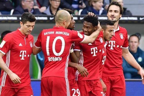 Bundesliga: le Bayern Munich champion d'Allemagne pour la cinquième fois d'affilée