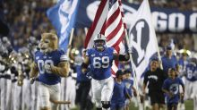 Father of BYU OL Tristen Hoge says Hoge has pneumonia after contracting COVID-19