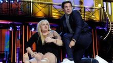 Rebel Wilson 'Flashes' the Audience While Making Out With Adam DeVine at MTV Movie Awards