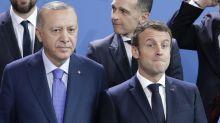 Erdogan cuestiona estado mental de Macron; Francia responde