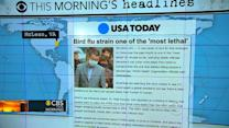 Headlines: New strain of bird flu is one of the most lethal