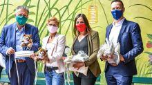 Corona-Krise: Flughafenbetreiber spendet Masken für Kinderhospiz