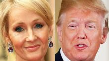 J.K. Rowling Taunts Trump With A 'Disgusting' Rewrite Of His Latest Twitter Rant