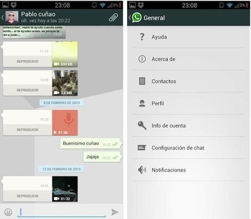 WhatsApp for Android gets Holo-themed makeover in latest beta