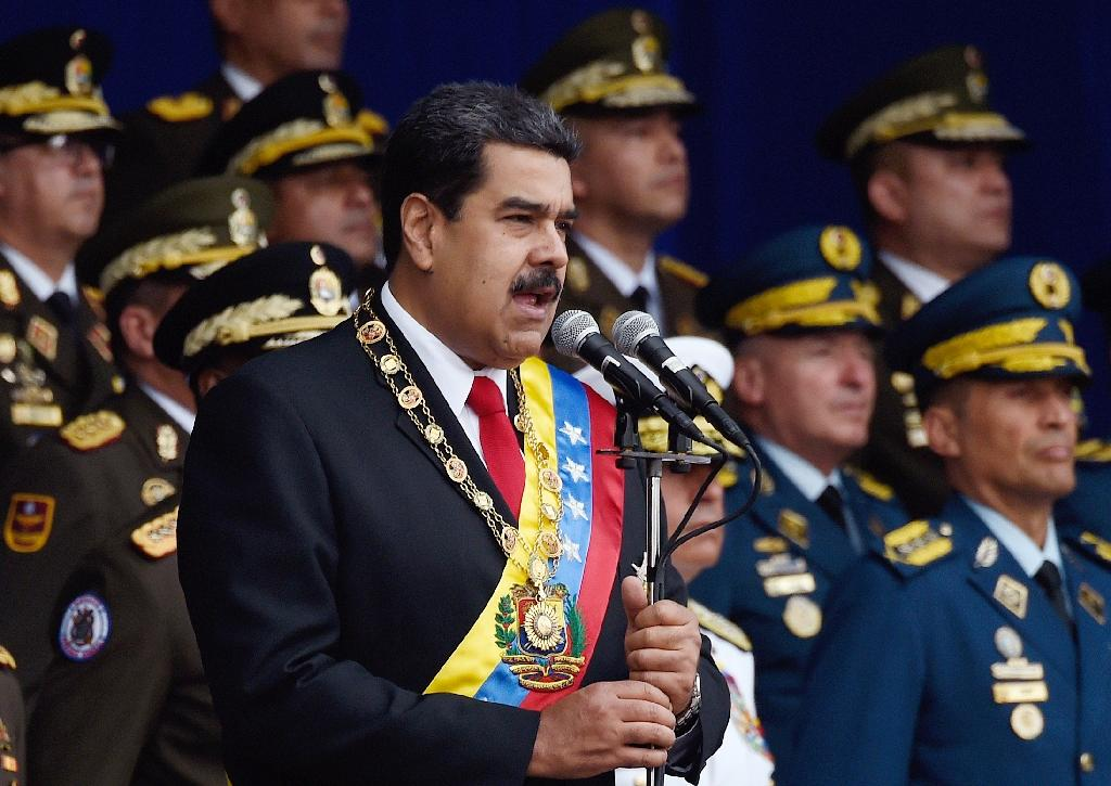 Venezuela President Nicolas Maduro is accused by opponents of a brutal crackdown on political dissent