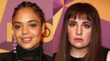 Tessa Thompson Says She Isn't Feuding With Lena Dunham Over Time's Up